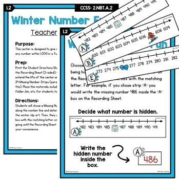 2nd grade place value unit ccss differentiated worksheets centers. Black Bedroom Furniture Sets. Home Design Ideas