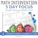 2nd Grade Place Value Unit | Small Group Math Intervention