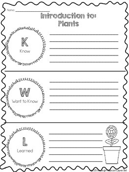 2nd Grade Plants Unit {Quick Pack to use with Next Generation Science Standards}