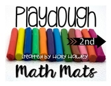 2nd Grade Playdough MATH Mats