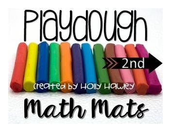 2nd Grade Playdough MATH Mats