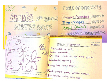 2nd Grade Poetry Book