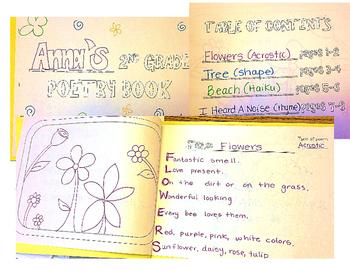 2nd Grade Poetry Book