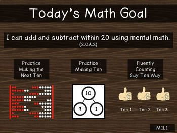 2nd Grade PowerPoint EngageNY - Eureka Math Module 1 Lesson 1
