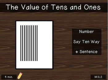 2nd Grade PowerPoint EngagyNY - Eureka Math Module 1 Lesson 2