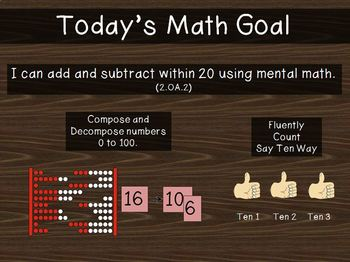 2nd Grade PowerPoint EngagyNY - Eureka Math Module 1 Lesson 2