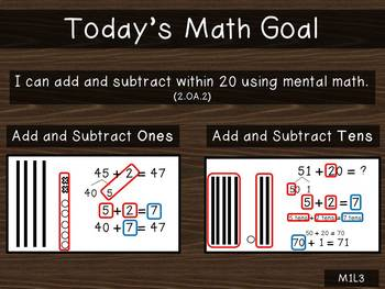 2nd Grade PowerPoint EngagyNY Eureka Math Module 1 Lesson 3