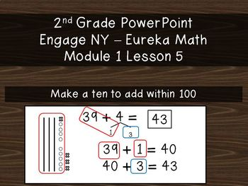2nd Grade PowerPoint Module 1 (All 8 lessons!) EngageNY -Eureka Math