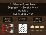 2nd Grade PowerPoint Module 1 (All 8 lessons!) EngageNY -E