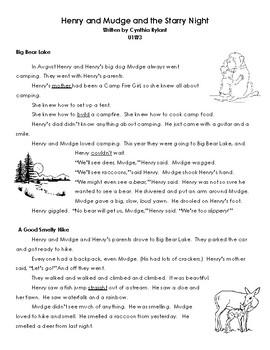 2nd Grade Printable Reading Street Stories Unit 1