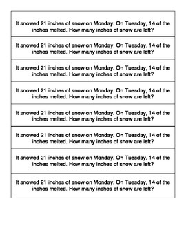 2nd Grade Problem Solving
