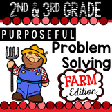 2nd & 3rd Grade Problem Solving: Farm Edition