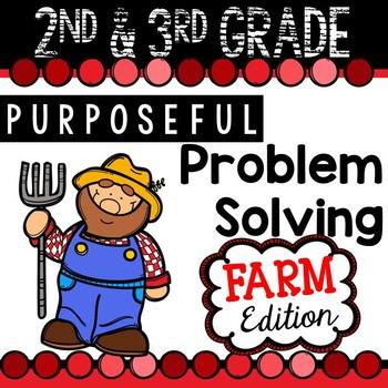 2nd & 3rd Grade Problem Solving: Farm Edition