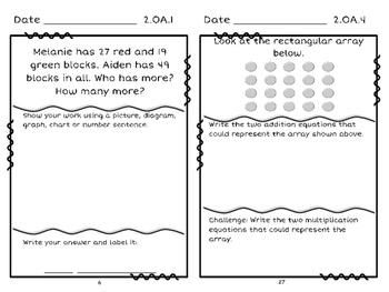 2nd Grade Problem Solving: Above Standard Version