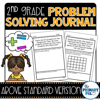 2nd Grade Common Core Problem Solving Journal: Above Stand