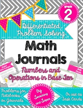 2nd Grade Problem Solving Math Journal - Numbers and Opera
