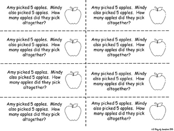 Addition and Subtraction Word Problems {Problem of the Day}