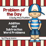 Problem of the Day {Addition and Subtraction}