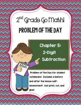 2nd Grade Problem of the Day Chapter 5: 2 Digit Subtraction
