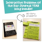 2nd Grade Problem of the Day Interactive Journal Growing Y