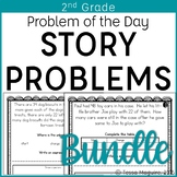 2nd Grade Problem of the Day Story Problems- Bundle