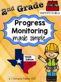 2nd Grade Progress Monitoring Pack:  TX Edition