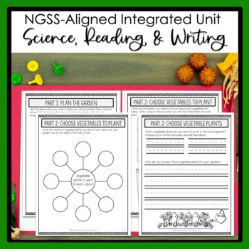 2nd Grade Project-Based Learning: School Garden - Science Text Included