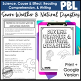 2nd Grade Project-Based Learning: Severe Weather and Natur