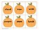 2nd Grade Pumpkin Plural Sort