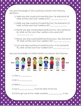 2nd Grade Quarter 1 Math Review