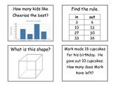 2nd Grade Quiz-Quiz Trade Set 3