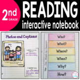 2nd Grade READING Interactive Notebook {Common Core Aligned}