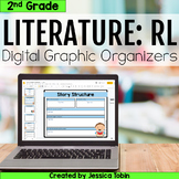2nd Grade RL Literature Digital Graphic Organizers- For Distance Learning
