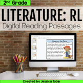 2nd Grade RL Literature Digital Passages- For Distance Learning