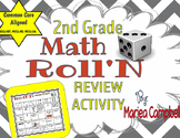 2nd Grade ROLL'N REVIEW Math Activity- Common Core