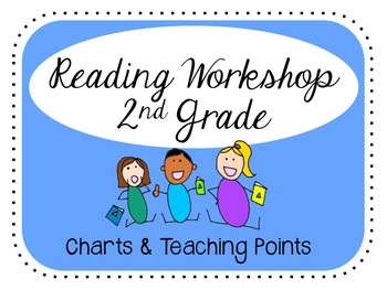 2nd Grade Reading All Year Charts & Teaching Points Bundle