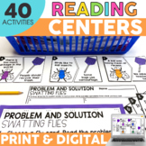 2nd Grade Reading Centers | Printable & Digital | Literacy