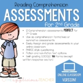 2nd Grade Distance Learning Reading Assessments