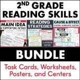 2nd Grade Reading Comprehension Bundle - Main Idea, Cause & Effect, Strategies