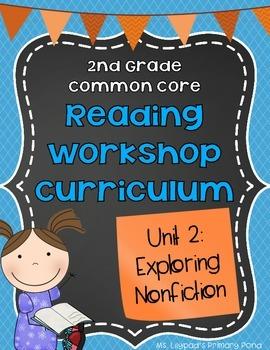 Nonfiction Reading Unit {Second Grade Reading Workshop Unit 2}
