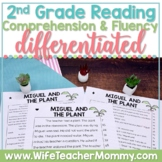 2nd Grade Reading Comprehension Fluency Passages Distance Learning PRINTABLE