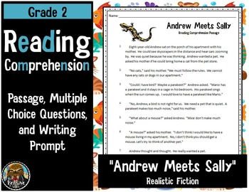 2nd Grade Reading Comprehension Passage and Multiple-Choice Test