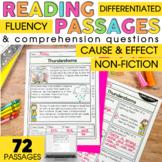 2nd Grade Reading Comprehension Passages | Nonfiction Caus