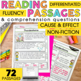 2nd Grade Reading Comprehension Passages | Nonfiction Caus