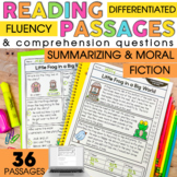 2nd Grade Reading Comprehension Passages | Summarizing and