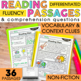 2nd Grade Reading Comprehension Passages | Vocabulary and