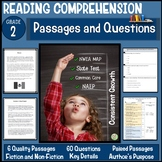 2nd Grade Reading Comprehension Passages and Questions