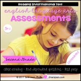2nd Grade • Reading Comprehension Passages and Questions • RL I & II • Set 2