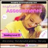 2nd Grade • Reading Comprehension Passages and Questions • RL II • Set 2