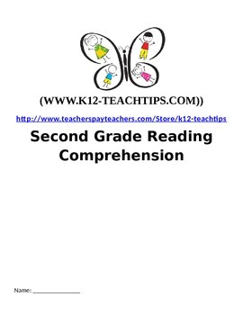 2nd Grade Reading Comprehension Work sheets (15 short stories) by ...